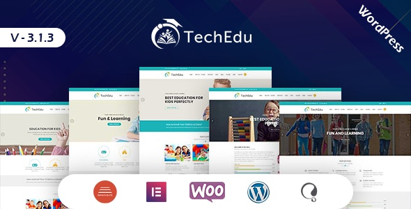 TechEdu WordPress Education Theme