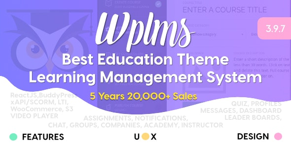 WPLMS Best Education Theme for WordPress