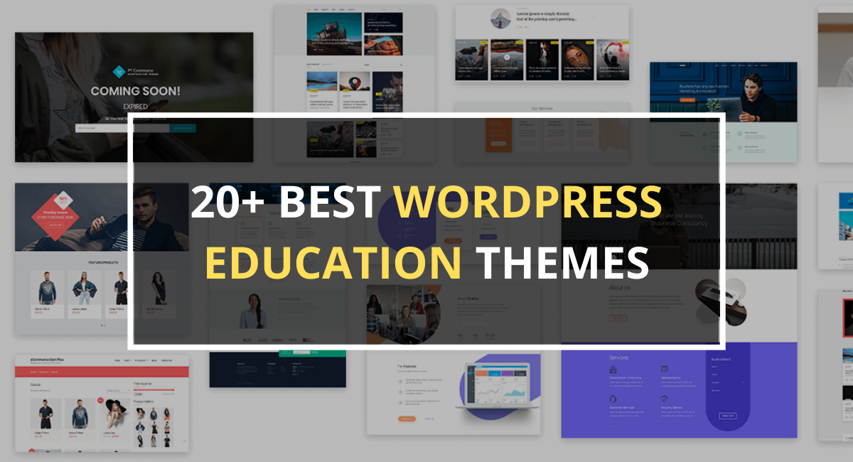 20+ Best WordPress Education Themes