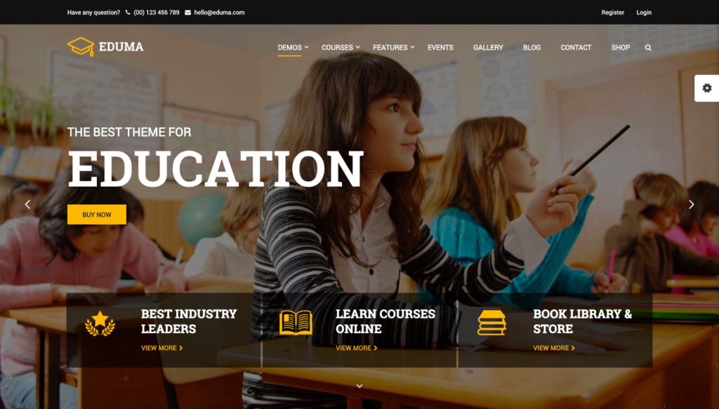 Eduma Education Theme - Best Selling Education Theme 2019